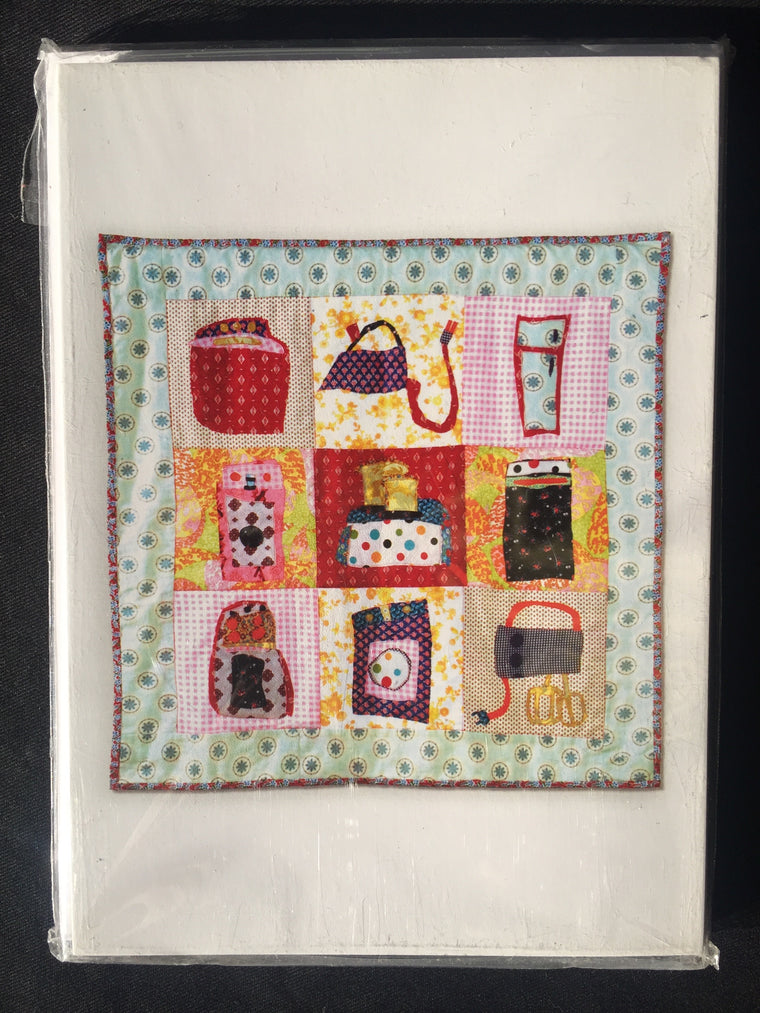 Appliance Quilt Greeting Cards
