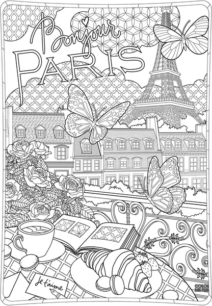 ColorMeFun I ❤ PARIS