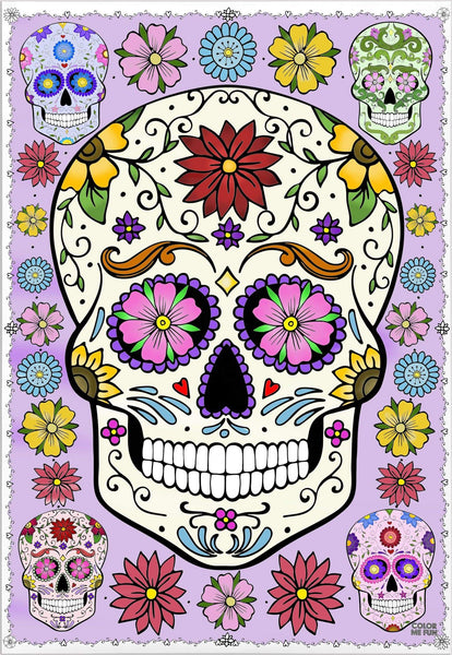 ColorMeFun SUGAR SKULL