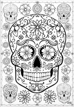 Load image into Gallery viewer, ColorMeFun SUGAR SKULL