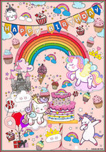 Load image into Gallery viewer, ColorMeFun UNICORN BIRTHDAY