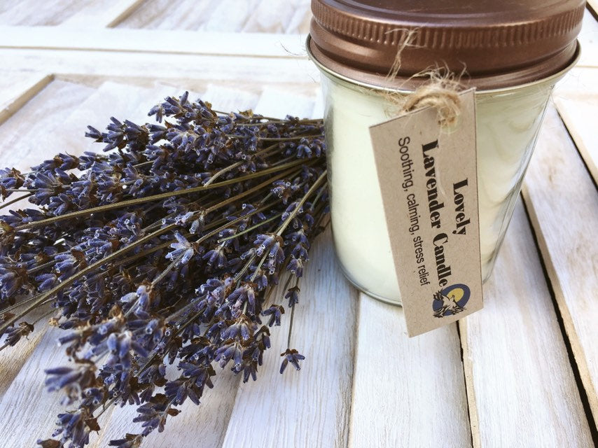 Soy Candle|Lavender Soy Candle|Aromatherapy Candle