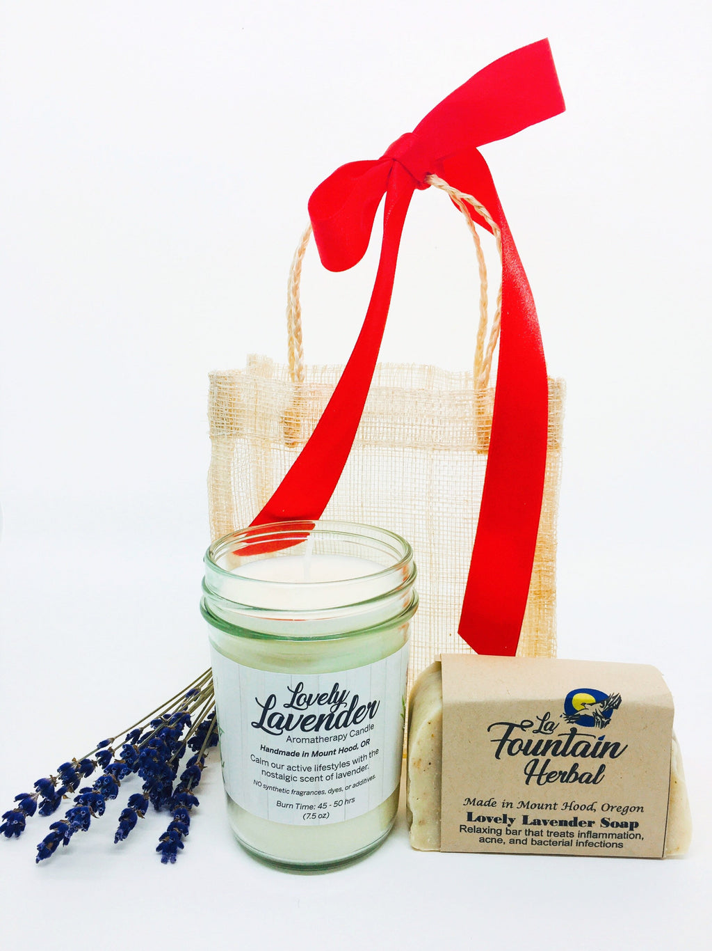 Gift Set| Organic Soap and Candle Gift Set