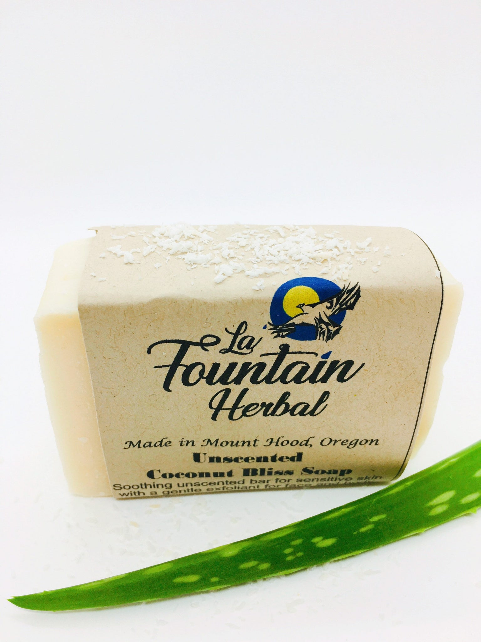 Coconut Bliss Soap|Unscented Soap|Face and Body Soap