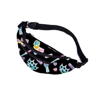 Girly Gang Fanny Pack in Black