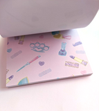 Girly Gang 4x4 Memo Notepad