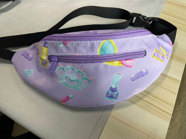 Girly Gang Fanny Pack in Lavender PREORDER
