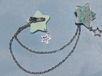 Dreamy Pastel Starry 3-Way Clip in Mint
