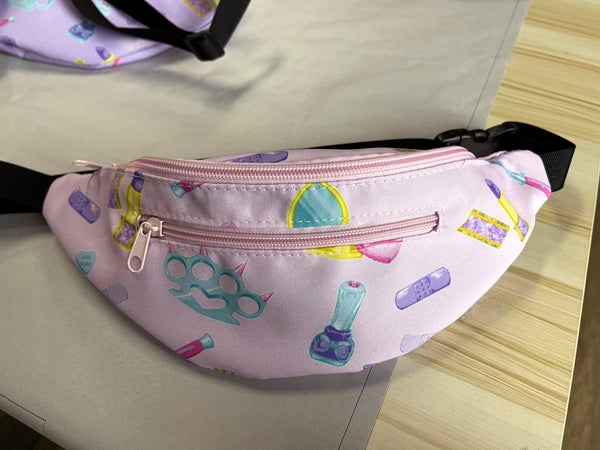 Girly Gang Fanny Pack in Pink PREORDER
