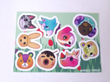Animal Crossing New Horizons Sticker Sheet