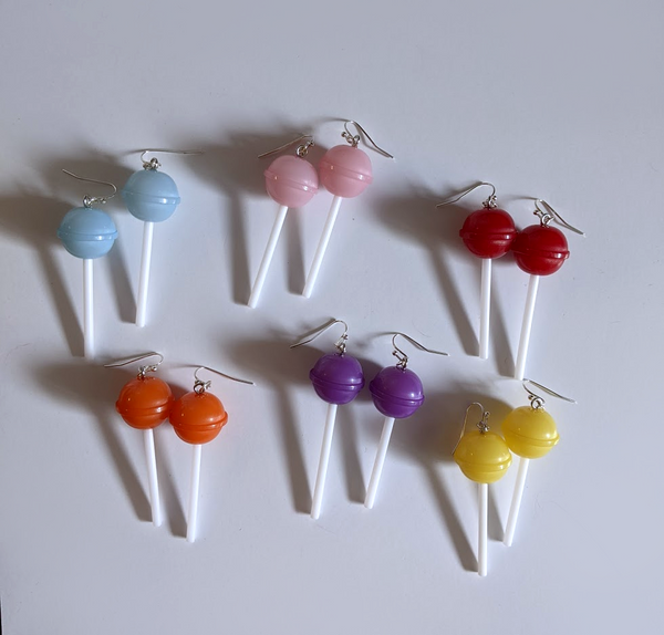 Chunky Lollipop Earrings