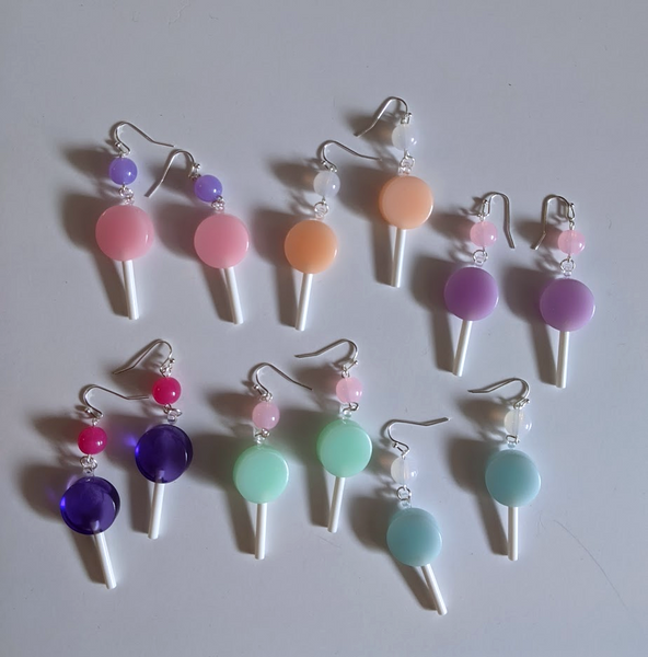 Dainty Lollipop Earrings