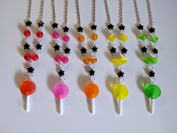 Spooky Starry Candy Necklace