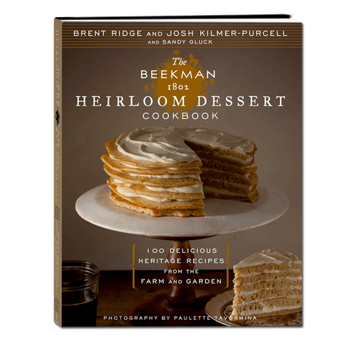 The Beekman 1802 Heirloom Dessert Cookbook - autographed