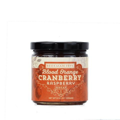 Blood Orange Cranberry Raspberry Spread
