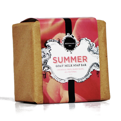 """Scent of Summer"" Goat Milk Soap"