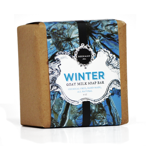 """Scent of Winter"" Goat Milk Soap"