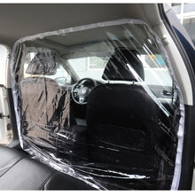 Load image into Gallery viewer, Car Taxi Isolation Film Plastic Anti-Fog Full Surround Protection Cover Cab Front Rear PVC Film To Block The Spread Of Saliva