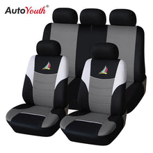 Load image into Gallery viewer, AUTOYOUTH Car Seat Covers The sailboat embroidery pattern Fashion Styling Full set Auto Interior Accessories Auto Seat Protector