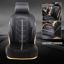 Load image into Gallery viewer, 2020 New 1PCS/2PCS Car Seat Cushion PU Leather Car Seat Covers Universal Front seat Protector Cushion Fit Most Sedans Truck SUV