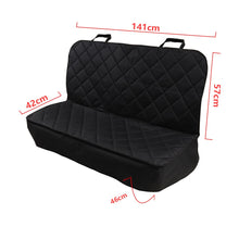 Load image into Gallery viewer, AUTOYOUTH Dog Nonslip Back Seat Cover with Anchors and Adjustable Pet Dog Car Seat Belt