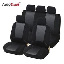Load image into Gallery viewer, AUTOYOUTH Car Seat Covers Universal Fit Jacquard +Polyester Fabric Automobiles Seat Cover Interior Accessories Seat Protector