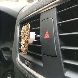 Fashion Leopard Head Outlet Vent Perfume Clip to Remove Odor Car Interior Creative Ornaments Car Perfume Air Freshener