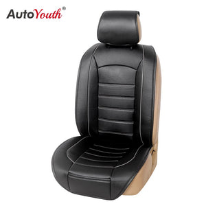 2020 New 1PCS Car Seat Cushion PU Leather Car Seat Cover Set for Funda Asiento Coche for Honda Accord 2003 2007 for Qashqai J10