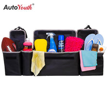 Load image into Gallery viewer, Car Trunk Organizer Backseat Storage Bag High Capacity Multi-use Oxford Cloth Car Seat Back Organizers Interior Accessories
