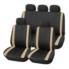 Load image into Gallery viewer, AUTOYOUTH 9PCS Full Set Of Universal Car Seat Cover 4 Colors Optional Car Seat Cover