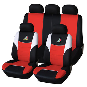 AUTOYOUTH Car Seat Covers The sailboat embroidery pattern Fashion Styling Full set Auto Interior Accessories Auto Seat Protector