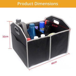 AUTOYOUTH New Car Storage Box Suitcase Oxford Cloth Foldable Car Storage Finishing Storage Internal Parts Car Interior