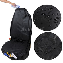 Load image into Gallery viewer, AUTOYOUTH Premium Waterproof Bucket Seat Cover (1 Piece) Universal Fit for Most of Cars Trucks Suvs Black Car Seat Protector