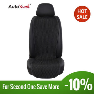 AUTOYOUTH Breathable Ice Silk Small Waistline Seat Cushion Car Pad Universal Cushions Summer Car Seat Cover 4 Colour Car-Styling