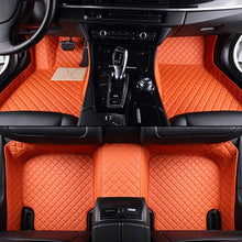 Load image into Gallery viewer, Custom Make Car Floor Mats Orange Red for kia seltos 2020 for infiniti qx60 for mercedes clase e for Mitsubishi
