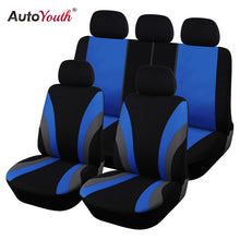 Load image into Gallery viewer, AUTOYOUTH Classic Car Seat Covers Universal Fit Most SUV Truck Cars Covers Car Seat Protector Car Styling 3 Color Seat Cover