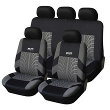 Load image into Gallery viewer, AUTOYOUTH Hot Sale 9PCS and 4PCS Universal Car Seat Cover Fit Most Cars with Tire Track Detail Car Styling Car Seat Protector