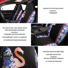 Load image into Gallery viewer, 2PCS Car Seat Covers Car Bucket Seat Covers with Goose Print for Funda Asiento Coche for Peugeot 206 for Audi A3 8p