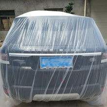 Load image into Gallery viewer, Car Disposable Car Cover Car Cover PE Transparent Plastic Dustproof Waterproof Winter Snow and Frozen General Car Clothing