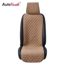Load image into Gallery viewer, AUTOYOUTH 4 Colours Nano cotton velvet Cloth Seat Cushion 1PCS Car Seat Cover Universal Auto Seat Covers Protector Car Styling