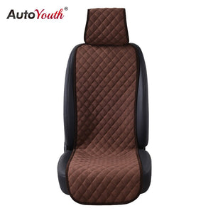 AUTOYOUTH 4 Colours Nano cotton velvet Cloth Seat Cushion 1PCS Car Seat Cover Universal Auto Seat Covers Protector Car Styling