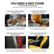Load image into Gallery viewer, AUTOYOUTH luxury PU Leather Car Seat Covers For Most Car Protection Seats Auto Interior Accessories Covers for Seats