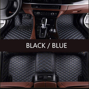 Custom Make Car Floor Mats Orange Red for kia seltos 2020 for infiniti qx60 for mercedes clase e for Mitsubishi