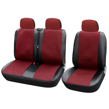 Load image into Gallery viewer, AUTOYOUTH Blue/Black 1 + 2 Seat Covers  For van / van Universal With Imitation Leather Color