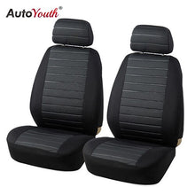Load image into Gallery viewer, AUTOYOUTH 5MM Foam Van Seat Covers Airbag Compatible Hot 2PCS Car Seat Cover Universal Model Car-styling Interior Accessories