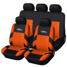 Load image into Gallery viewer, Car Seat Covers Red Russian Shipping Full Set