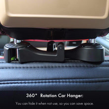 Load image into Gallery viewer, Vehicle Universal Car Headrest Hooks Organizer for Holding Phones and Hanging Handbags,Purses,Bags 1PCS