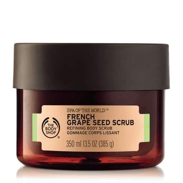 Spa of the World™ French Grape Seed Scrub