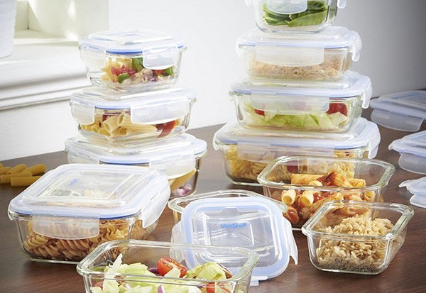 Reusable Tupperware Containers Reducing Plastic Use