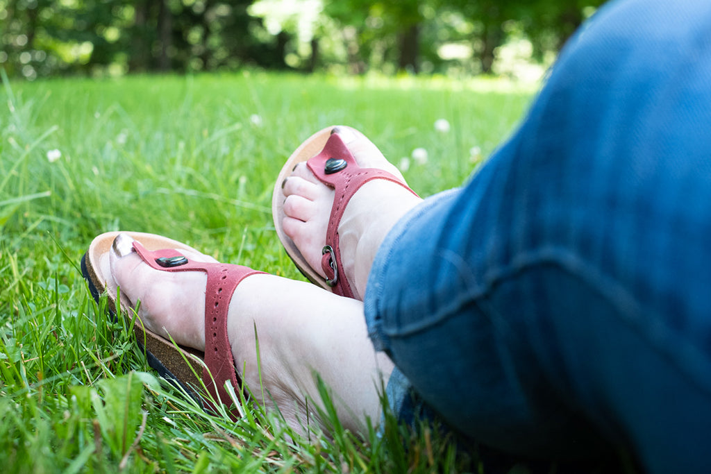 women's earthing sandals